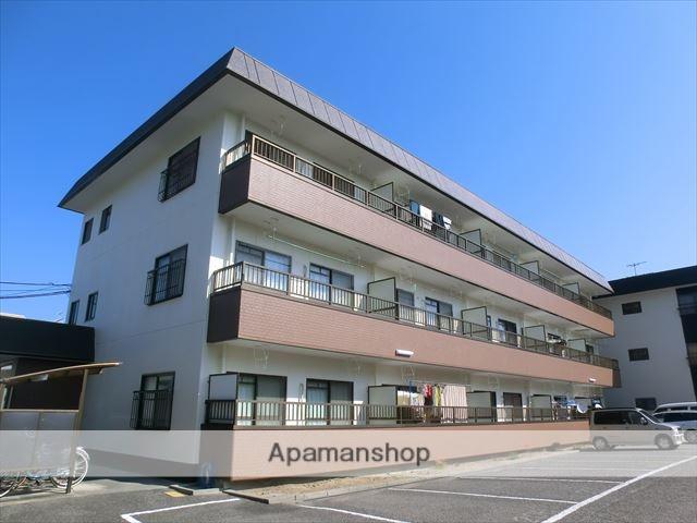 岡山県岡山市中区、岡山駅バスバス15分浜本町下車後徒歩3分の築30年 3階建の賃貸マンション