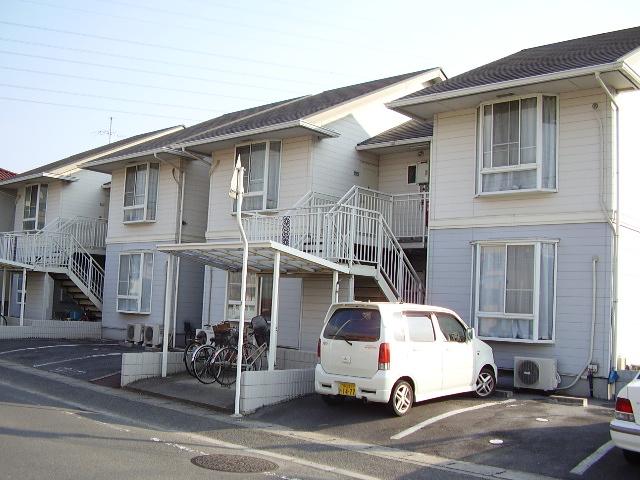 岡山県岡山市北区、岡山駅徒歩60分の築24年 2階建の賃貸アパート