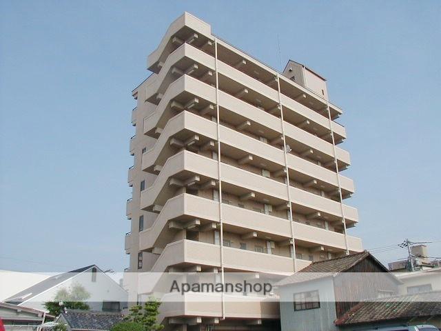 岡山県岡山市北区、岡山駅徒歩13分の築20年 8階建の賃貸マンション