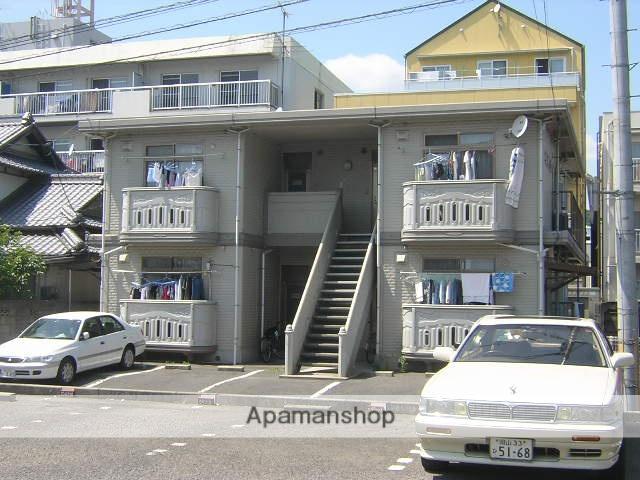 岡山県岡山市北区、西川原駅徒歩36分の築18年 2階建の賃貸マンション