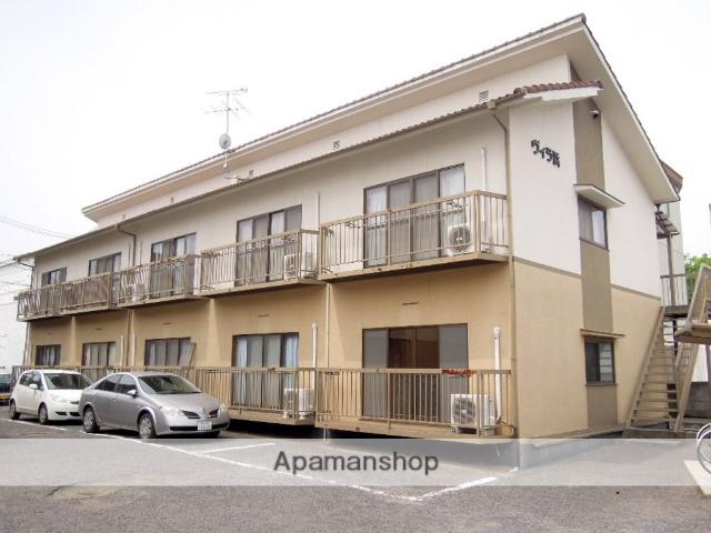 岡山県岡山市中区の築34年 2階建の賃貸アパート