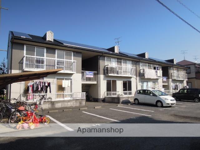 岡山県岡山市南区、大元駅徒歩35分の築29年 2階建の賃貸アパート