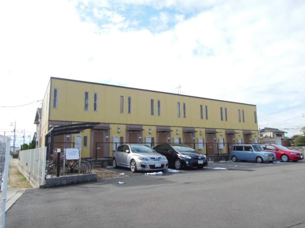 岡山県岡山市北区、北長瀬駅徒歩27分の築9年 2階建の賃貸アパート