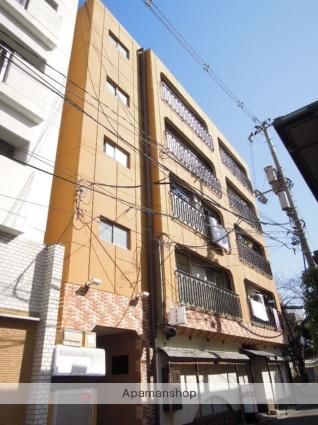 岡山県岡山市北区、岡山駅徒歩13分の築43年 5階建の賃貸マンション
