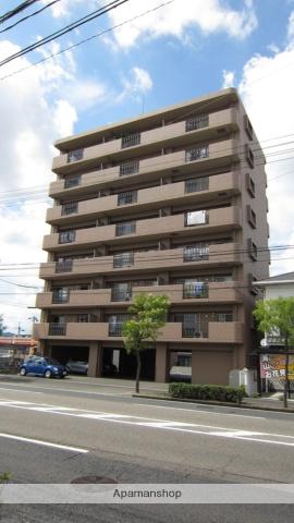 岡山県岡山市北区、北長瀬駅徒歩17分の築8年 8階建の賃貸マンション