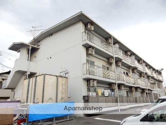 岡山県岡山市南区、岡山駅徒歩50分の築18年 3階建の賃貸マンション