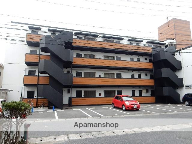 岡山県岡山市南区、岡山駅徒歩53分の築30年 4階建の賃貸マンション