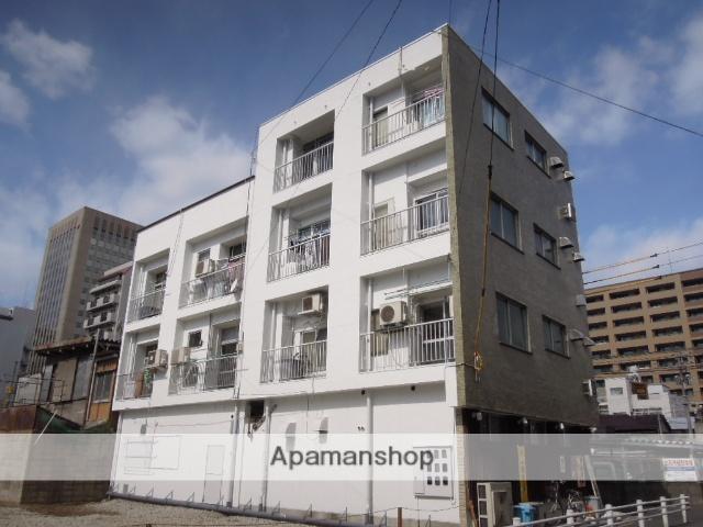 岡山県岡山市北区、郵便局前駅徒歩10分の築41年 4階建の賃貸マンション