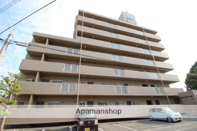 岡山県岡山市北区、大元駅徒歩28分の築21年 7階建の賃貸マンション