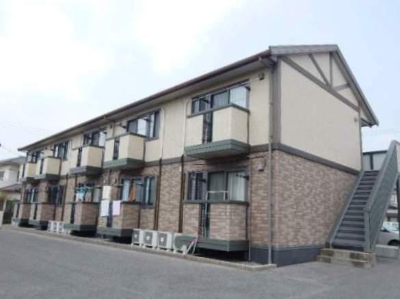 岡山県岡山市中区、高島駅徒歩8分の築13年 2階建の賃貸アパート