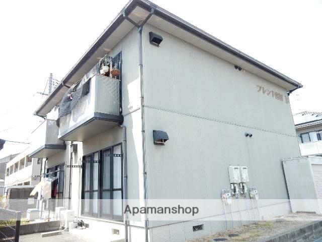 岡山県岡山市中区、東岡山駅徒歩8分の築18年 2階建の賃貸アパート