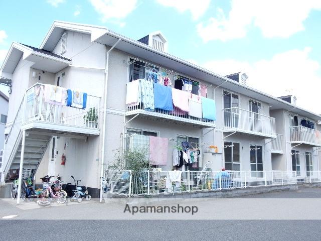 岡山県岡山市南区、清輝橋駅徒歩39分の築23年 2階建の賃貸アパート