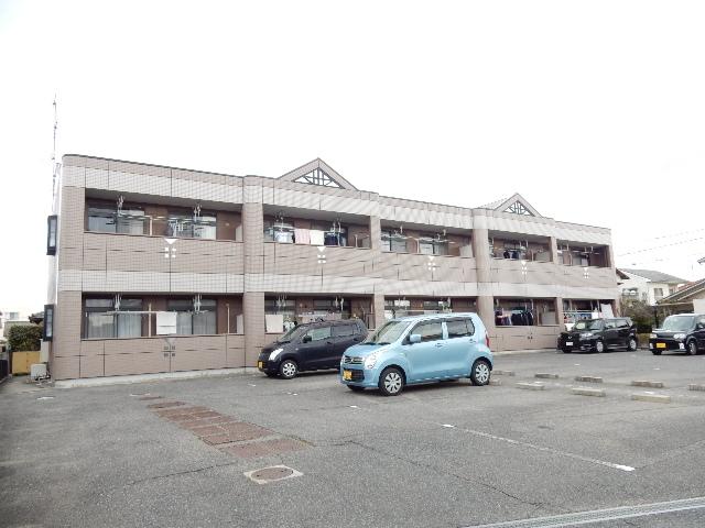 岡山県岡山市北区、備前一宮駅徒歩7分の築16年 2階建の賃貸アパート
