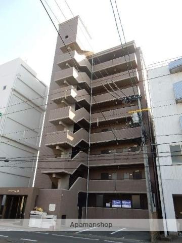 岡山県岡山市中区、岡山駅徒歩30分の築21年 8階建の賃貸マンション