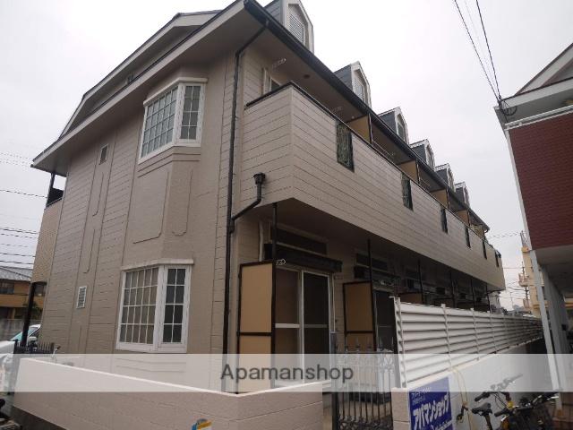 岡山県岡山市南区、大元駅徒歩38分の築25年 2階建の賃貸アパート