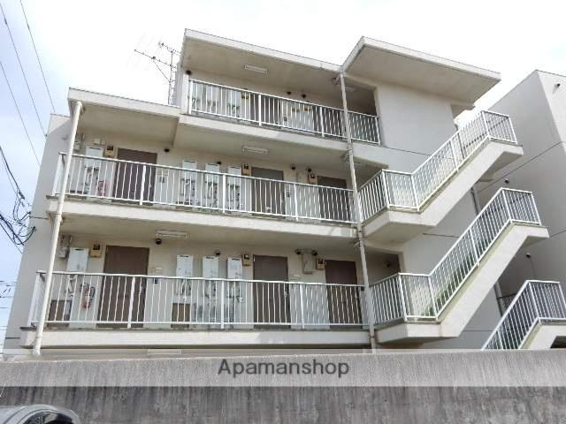 岡山県岡山市中区、西川原駅徒歩9分の築31年 4階建の賃貸マンション