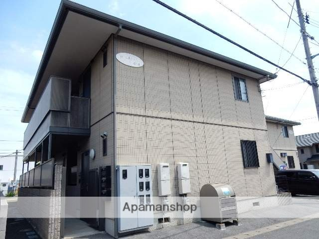 岡山県玉野市、備前田井駅徒歩21分の築15年 2階建の賃貸アパート