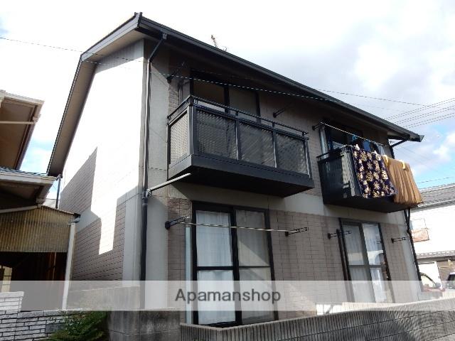 岡山県岡山市中区、高島駅徒歩7分の築20年 2階建の賃貸アパート