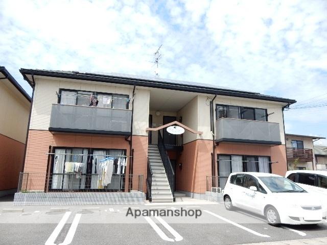 岡山県岡山市中区、東山駅徒歩31分の築18年 2階建の賃貸アパート