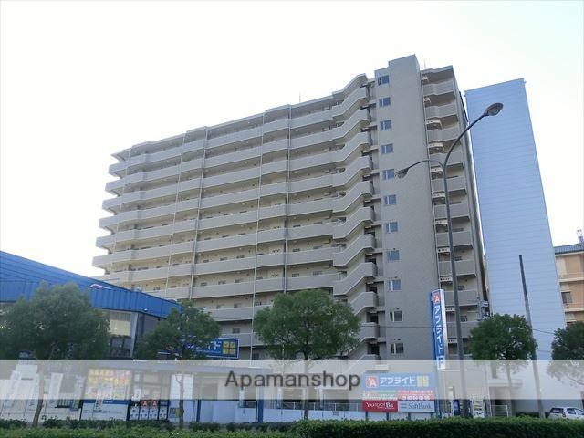 岡山県岡山市北区、大元駅徒歩9分の築13年 12階建の賃貸マンション