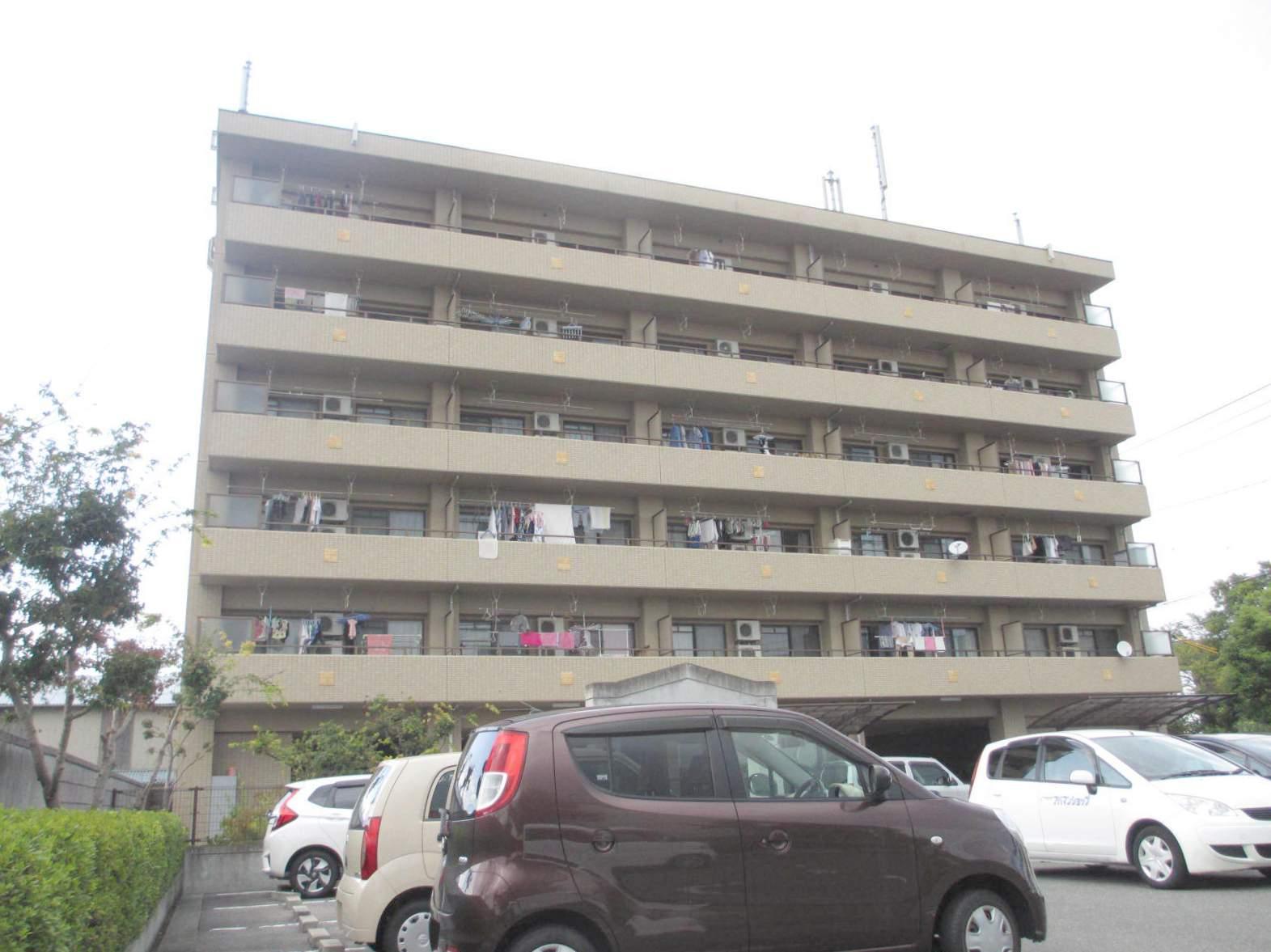 岡山県岡山市北区、北長瀬駅徒歩37分の築14年 6階建の賃貸マンション