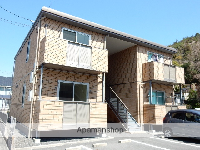 岡山県玉野市、八浜駅徒歩68分の築7年 2階建の賃貸アパート