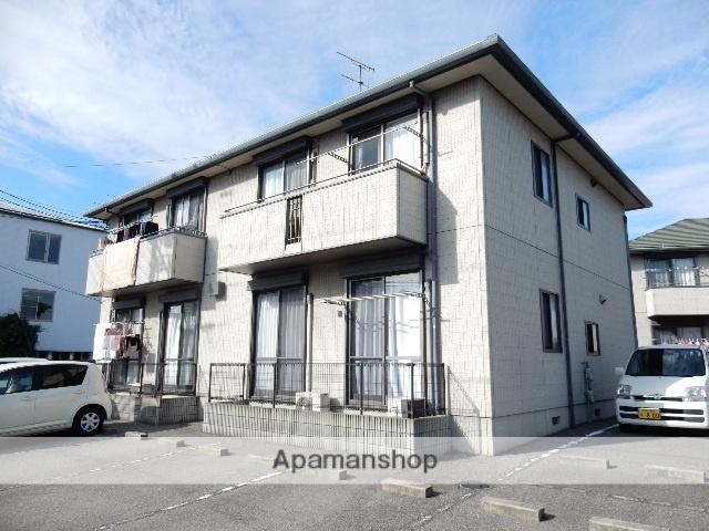 岡山県岡山市南区、岡山駅徒歩81分の築16年 2階建の賃貸アパート