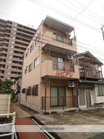 岡山県岡山市北区、大元駅徒歩2分の築21年 3階建の賃貸アパート