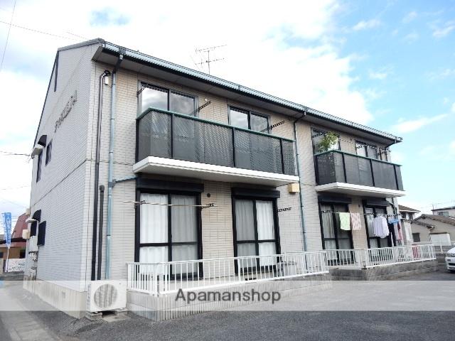 岡山県岡山市北区、庭瀬駅徒歩5分の築20年 2階建の賃貸アパート
