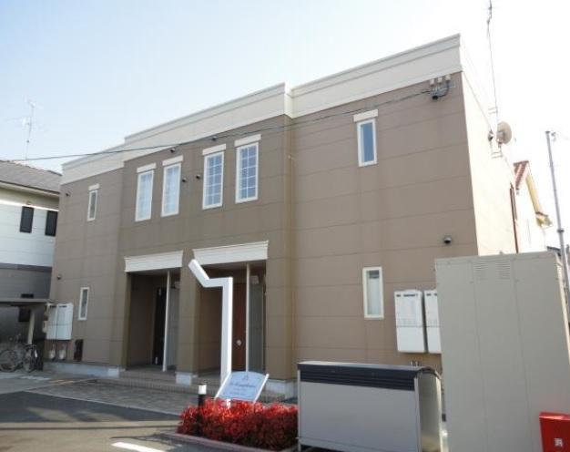 岡山県岡山市中区、中納言駅徒歩14分の築5年 2階建の賃貸アパート