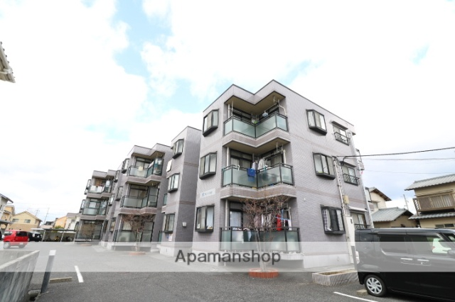 岡山県岡山市南区、備前西市駅徒歩39分の築21年 3階建の賃貸マンション