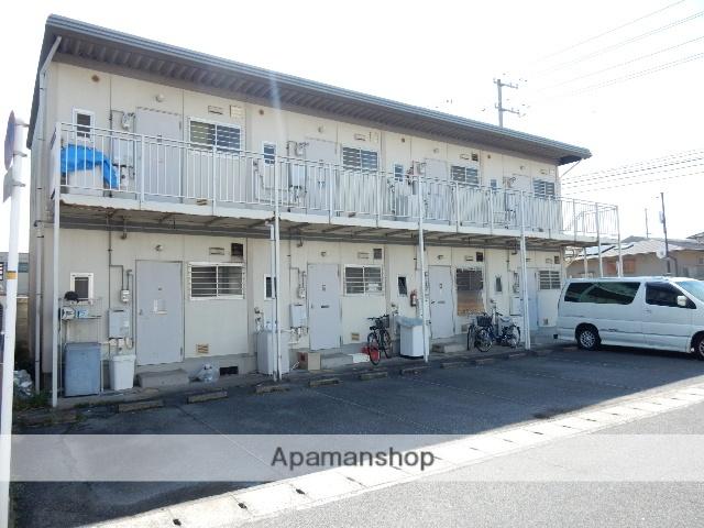岡山県岡山市南区、大元駅徒歩37分の築29年 2階建の賃貸アパート