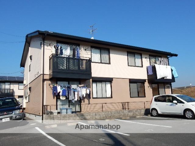 岡山県岡山市北区、備前一宮駅徒歩7分の築19年 2階建の賃貸アパート
