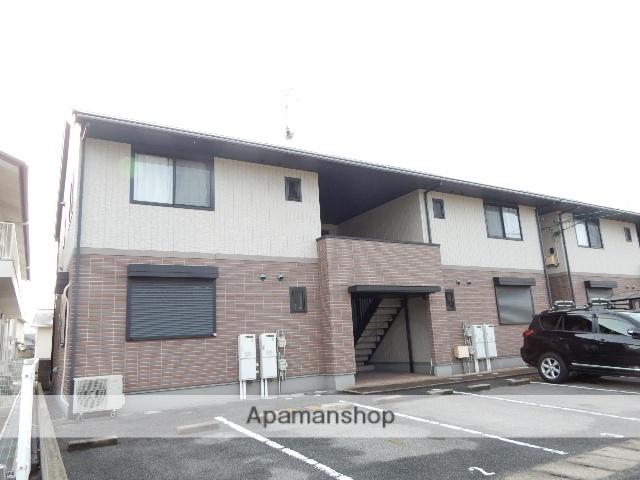 岡山県岡山市北区、備前三門駅徒歩19分の築13年 2階建の賃貸アパート