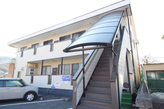 岡山県岡山市北区、備前一宮駅徒歩16分の築24年 2階建の賃貸アパート