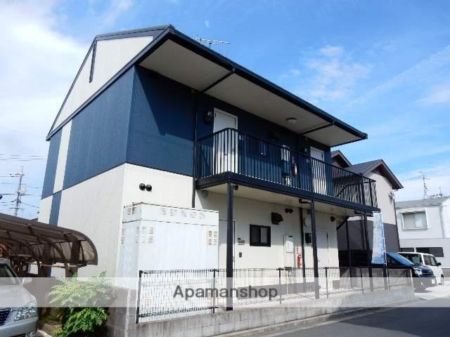 岡山県岡山市中区、東山駅徒歩80分の築18年 2階建の賃貸アパート