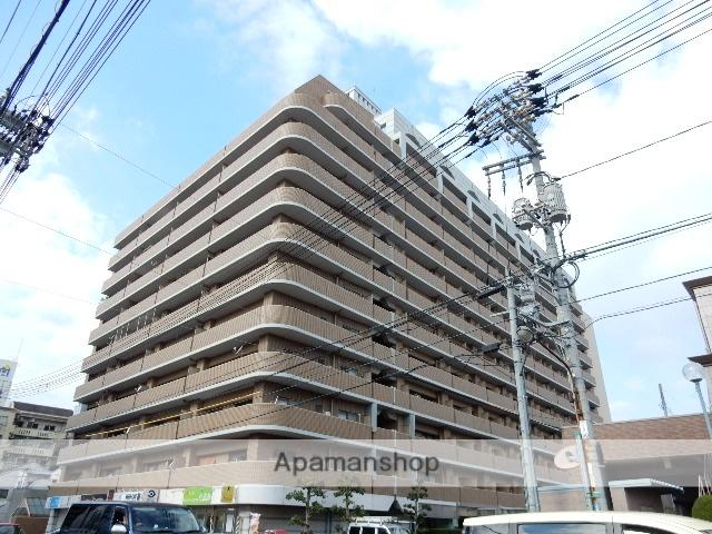 岡山県岡山市北区、岡山駅徒歩32分の築24年 13階建の賃貸マンション
