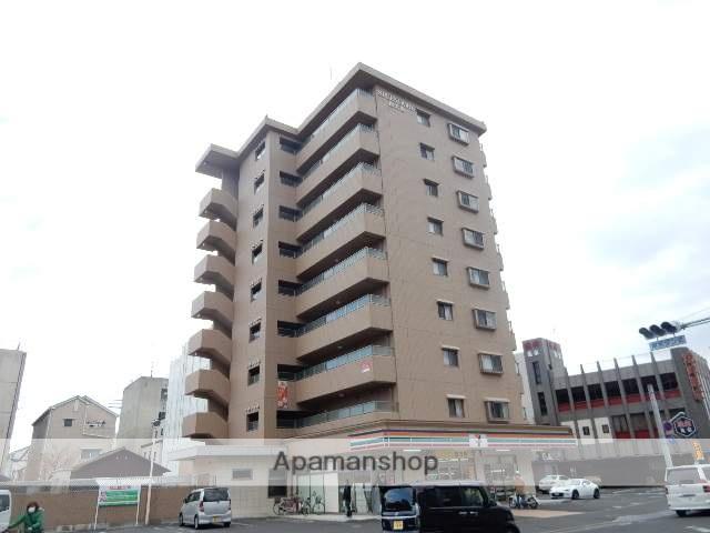 岡山県岡山市北区、大雲寺前駅徒歩14分の築8年 9階建の賃貸マンション