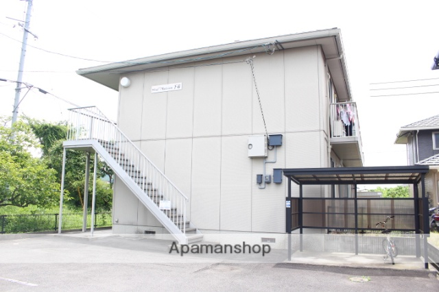 岡山県赤磐市、瀬戸駅徒歩47分の築16年 2階建の賃貸アパート