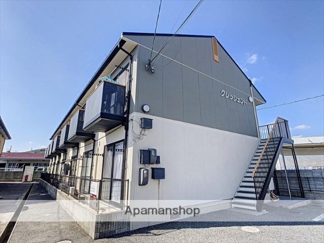 岡山県岡山市東区、上道駅徒歩8分の築18年 2階建の賃貸アパート