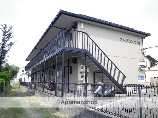 岡山県岡山市北区、法界院駅徒歩7分の築21年 2階建の賃貸アパート