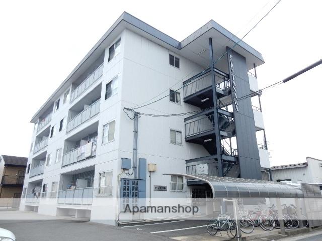 岡山県岡山市北区、北長瀬駅徒歩16分の築30年 4階建の賃貸マンション