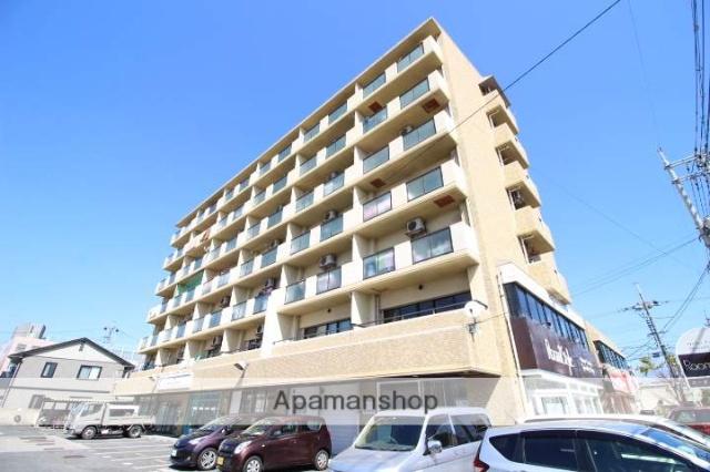 岡山県岡山市北区、岡山駅徒歩45分の築27年 7階建の賃貸マンション
