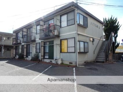 岡山県岡山市中区、西川原駅徒歩10分の築28年 2階建の賃貸アパート