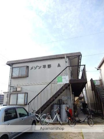 岡山県岡山市北区、庭瀬駅徒歩16分の築29年 2階建の賃貸アパート
