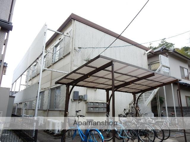 岡山県岡山市北区、法界院駅徒歩14分の築33年 2階建の賃貸アパート