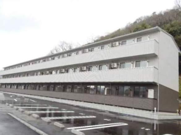 岡山県岡山市北区、野々口駅徒歩11分の築1年 3階建の賃貸アパート
