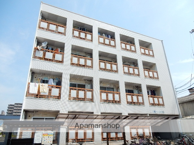 岡山県岡山市北区、大元駅徒歩7分の築29年 4階建の賃貸マンション