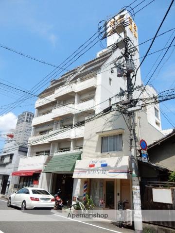 岡山県岡山市北区、郵便局前駅徒歩4分の築28年 7階建の賃貸マンション