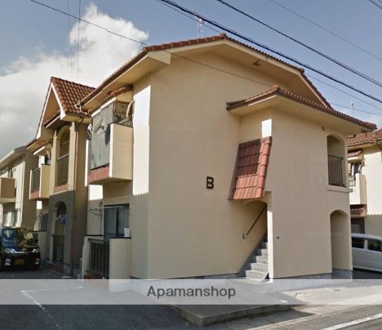 岡山県岡山市北区、大元駅徒歩6分の築32年 2階建の賃貸アパート